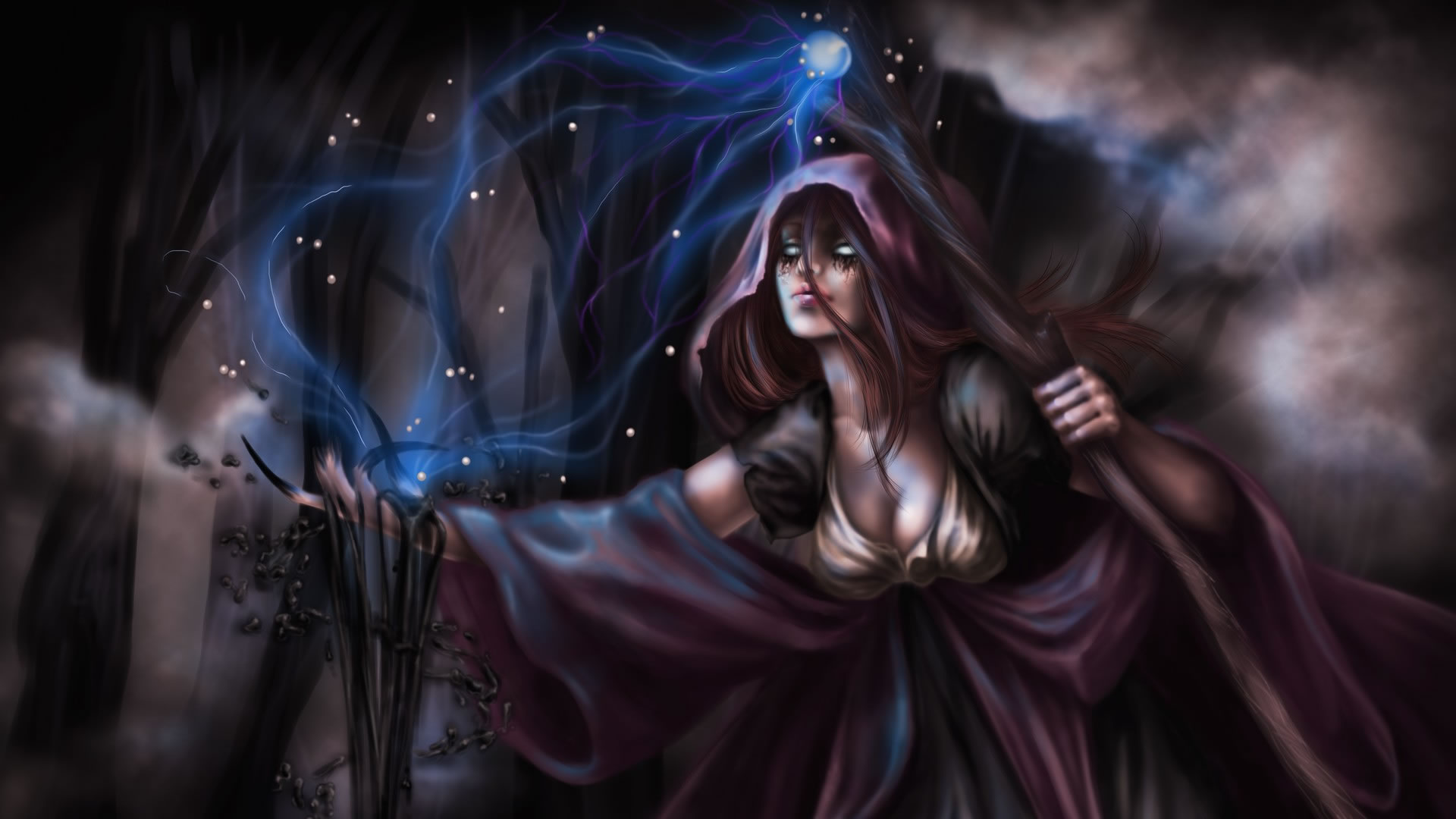 Path Of Exile Witch Art