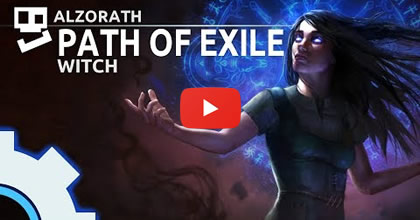 Path of Exile - Fall of Oriath,Witchy Woman