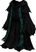 Cloak of Defiance, Lacquered Garb